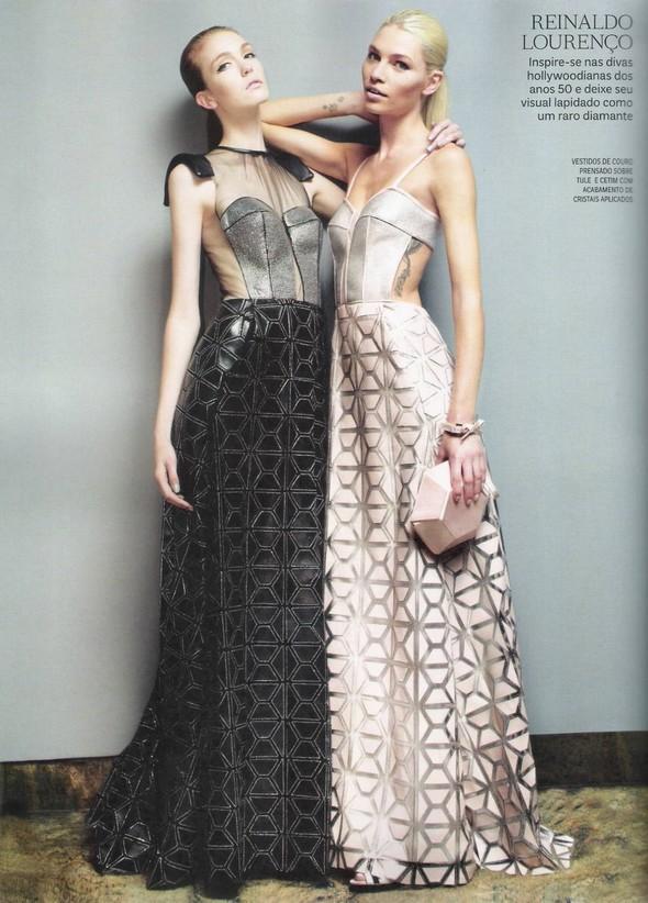 Съёмка: фотографии с бэкстейджей в бразильском Vogue. Изображение № 7.