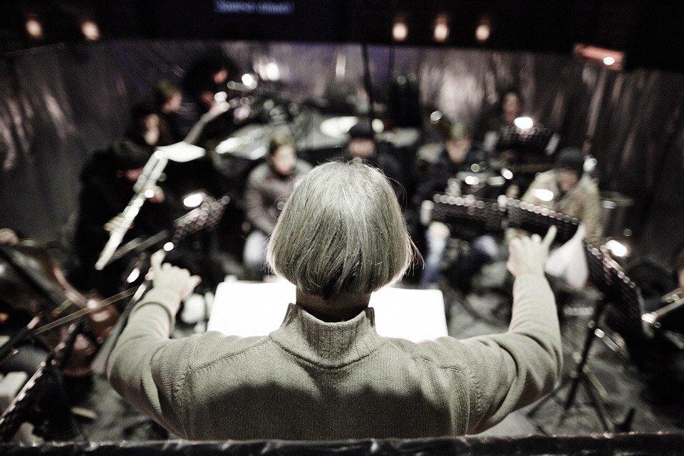 «Три четыре»: Фоторепортаж с репетиции оперы в подвале Москва-Сити. Изображение № 23.