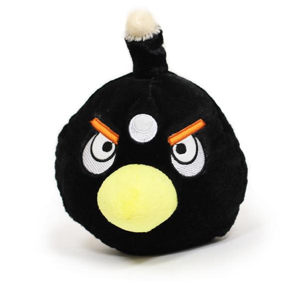 Черные птицы в Angry Birds используются в качестве бомб. Они могут разрушить даже конструкции из камня, наносят очень большие повреждения. Они взрываются через какое-то время после падения, так же их можно принудительно взорвать в любой момент. Эффективны для разрушения каменных конструкций.. Изображение № 3.