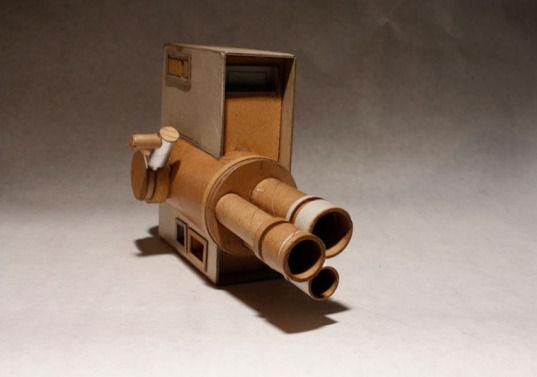 Картонные фотокамеры Киля Джонсона. Изображение № 8.