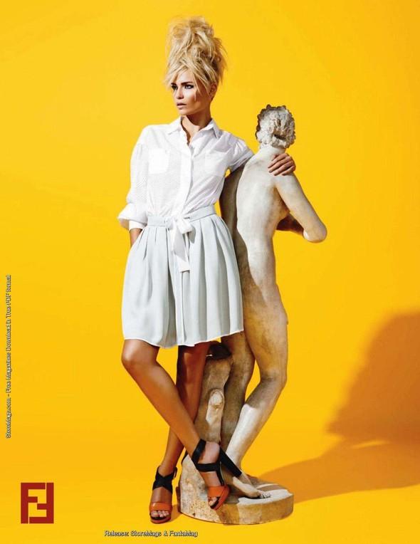 Превью кампаний: Fendi, Bottega Veneta и Donna Karan. Изображение № 3.