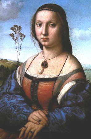 Картина «Маддалена Строцци», Рафаэль, 1506. Изображение № 28.