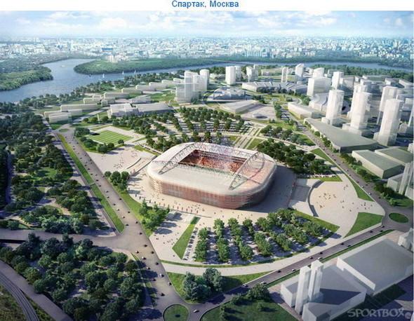 Архитектурные амбиции России для ЧМ по футболу 2018-22. Изображение № 16.