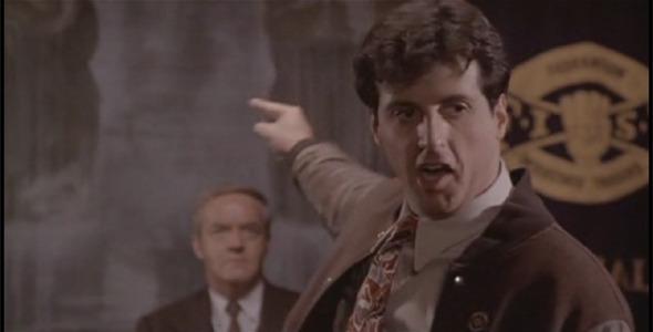 Сильвестр Сталлоне и его указующий палец. Изображение № 4.