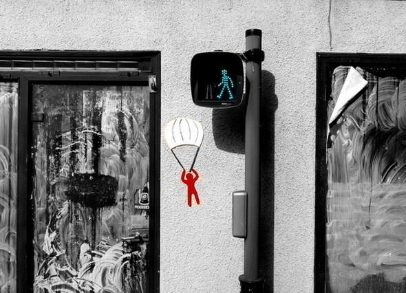 Изображение 1. Веселый стрит-арт .. Изображение № 1.