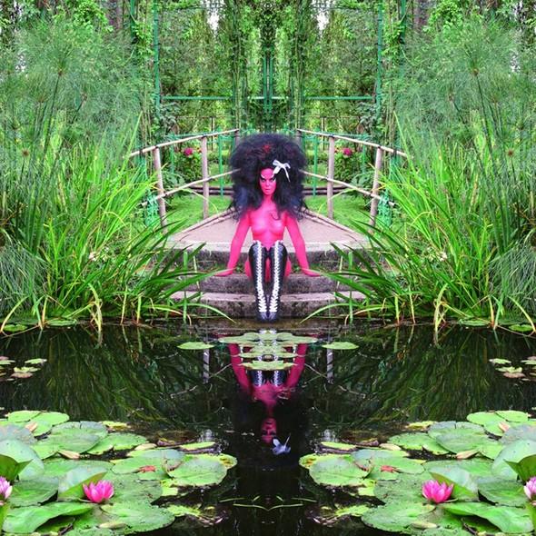 Съемка в стиле киберпанк: Незваный гость в райском саду. Изображение № 6.