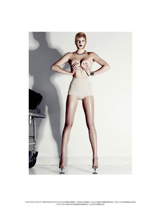 Вышли новые съемки из Bon, Flair, Vogue и других журналов. Изображение № 18.