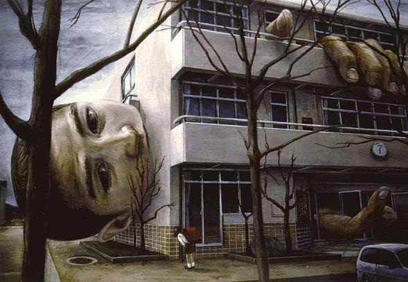 Творчество японского сюрреалиста Tetsuya Ishida. Изображение № 4.