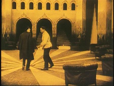 «Кабинет доктора Калигари»Роберт Вине. триллер, 1919. Изображение № 27.