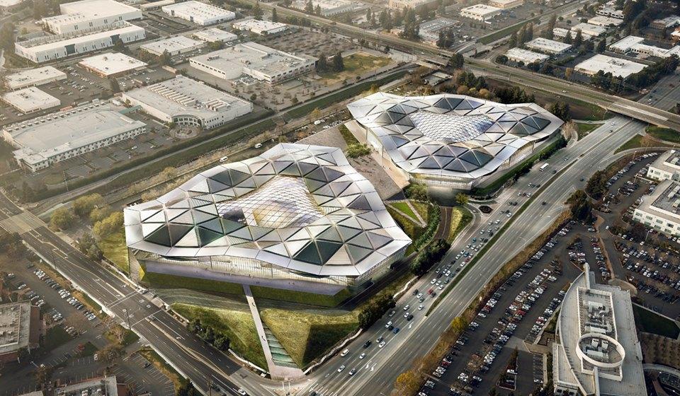 Как могли бы выглядеть города Apple, Google и Facebook. Изображение № 6.