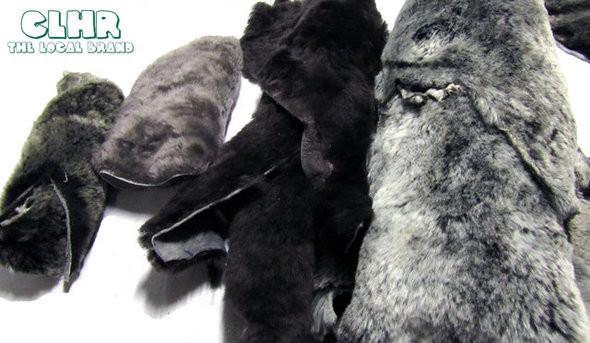 Натуральный мех для зимних вариантов обуви. Изображение № 7.
