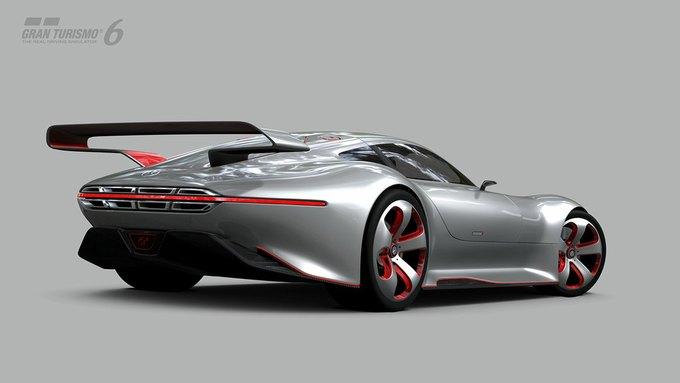 Mercedes-Benz разработала концепт спорткара для новой части Gran Turismo. Изображение № 22.