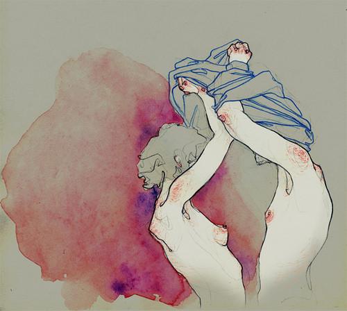 Чувства; карандашом и акварелью. Изображение № 8.