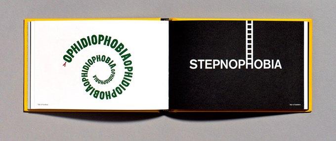 Офидиофобия — страх перед змеями; степнофобия — боязнь приставных лестниц. Изображение № 6.