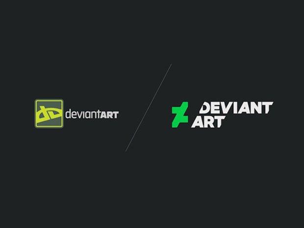 Онлайн-галерея DeviantArt показала новый логотип. Изображение № 2.