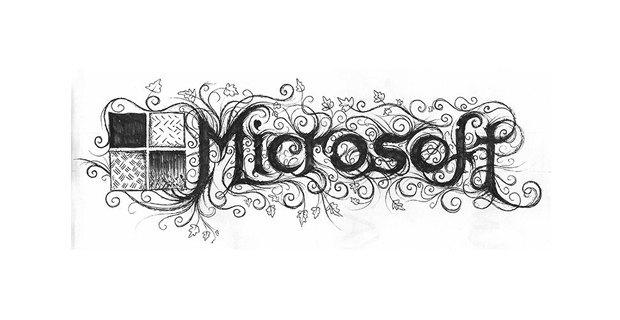 Лого известных брендов переделали в стиле блэк-метал. Изображение № 9.