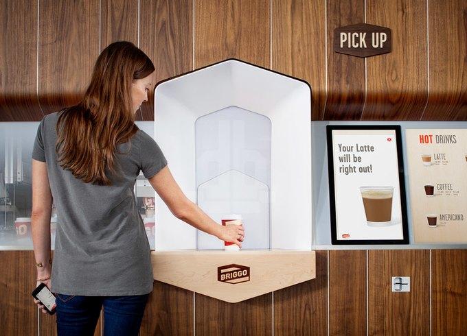 Ив Беар спроектировал «умную» кофейню, управляемую смартфоном. Изображение № 2.