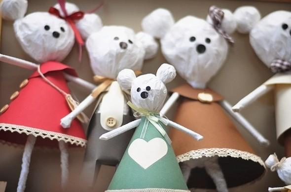 MiskaMoloka душевные игрушки ручной работы из бумаги. Изображение № 8.