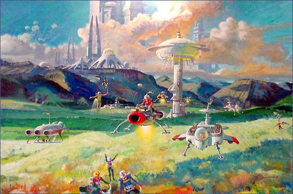 Каким было будущее. Космореализм Роберта МакКолла. Изображение № 22.