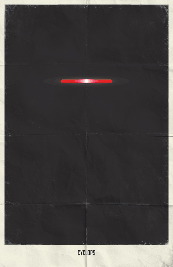 Минималистичные постеры для Marvel Comics. Изображение № 14.