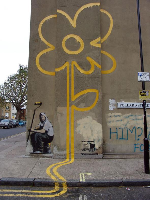 Стрит-арт в Лондоне. Изображение № 8.