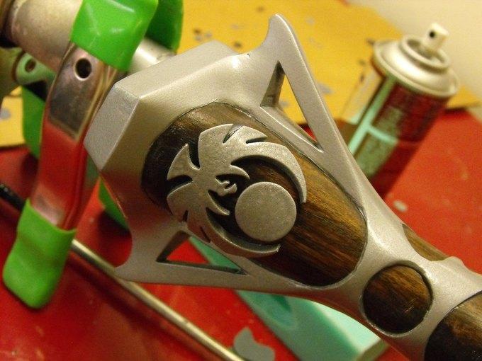 Дизайнер изготовил лук из Skyrim. Изображение № 27.
