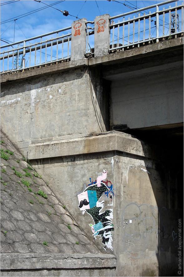Стрит-арт и граффити Риги. Изображение № 4.