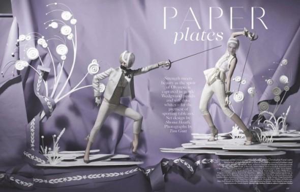 Съемки: Vogue, Elle, Tush и другие. Изображение № 1.