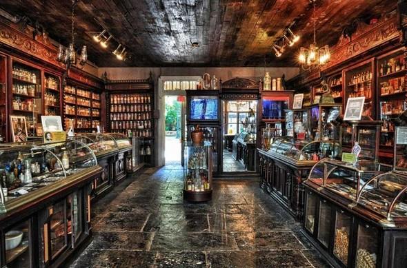 Аптека - музей в Новом Орлеане. Изображение № 18.