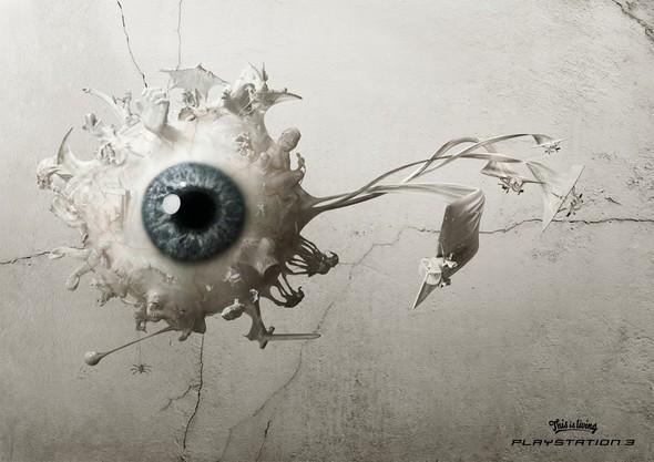 Рекламные плакаты Sony PSPи Sony Playstation 1, 2, 3. Изображение № 16.