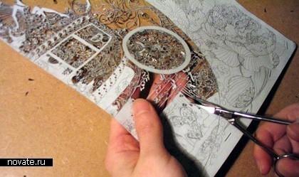 Необыкновенные кружева изобычной бумаги. Hina Aoyama. Изображение № 7.