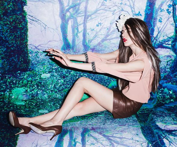 Юбка TALK TALK, блуза Trends Brands, туфли Selection. Изображение № 9.