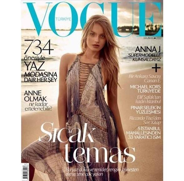Изображение 2. Обложки Vogue: Британия, Франция и другие.. Изображение № 2.