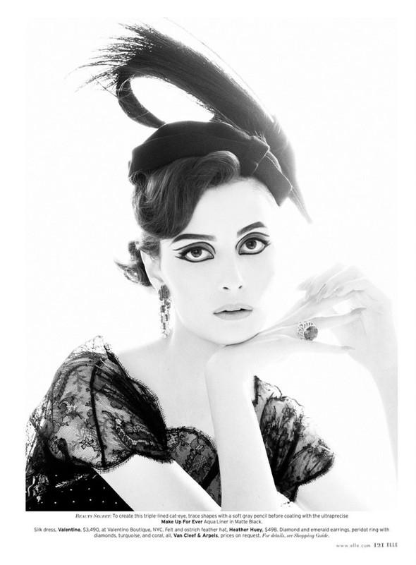 Съёмка: Сюзи Берд для Elle. Изображение № 10.