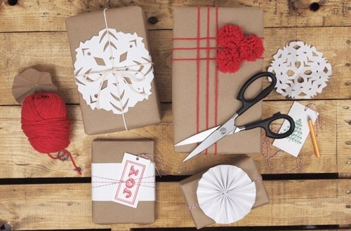 55 идей для упаковки новогодних подарков. Изображение №63.