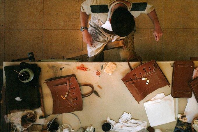 Процесс создания сумки Birkin. Изображение № 2.