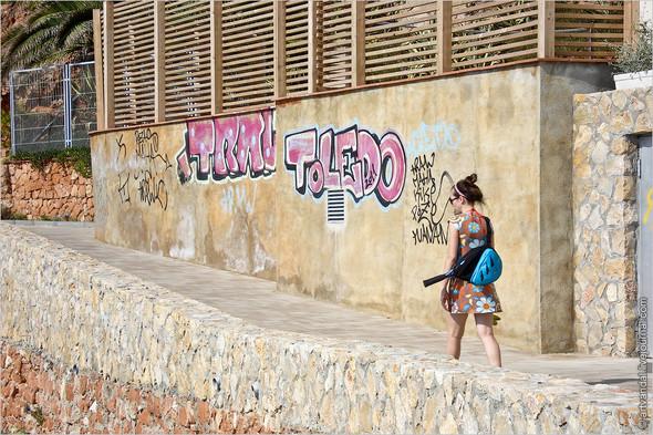 Граффити и стикеры Салоу, Испания. Изображение № 13.
