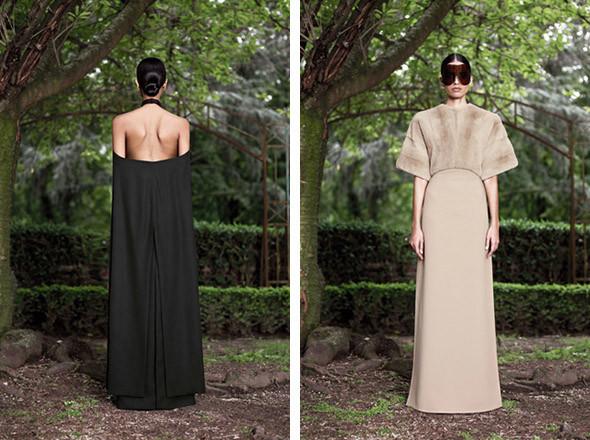 Кутюр в деталях: Маски, бисер и кожа в коллекции Givenchy. Изображение № 27.