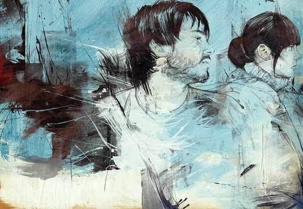 Russ Mills : графика, фотография и живопись. Изображение № 40.