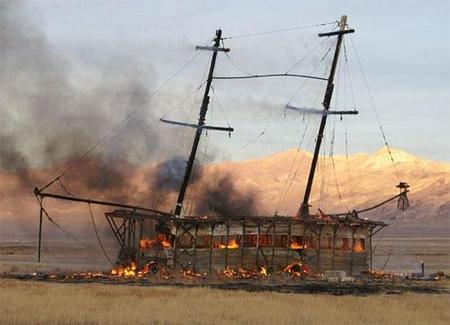 """Фестиваль """"Burning Man! """" вНеваде. Изображение № 23."""