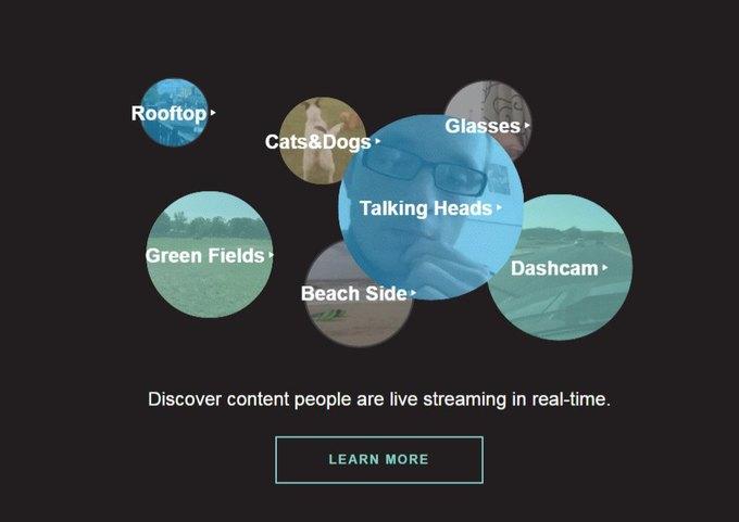 Сайт дня: как найти интересный стрим в Periscope. Изображение № 1.