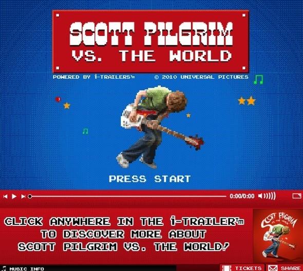Интерактивный Скотт Пилигрим. Изображение № 1.