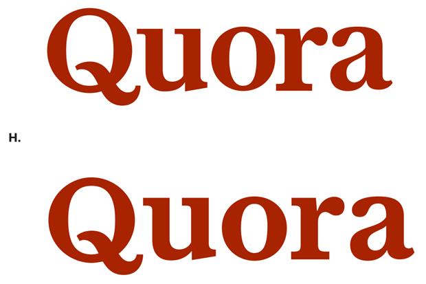 Шрифтовик рассказал о процессе редизайна логотипа Quora. Изображение № 9.