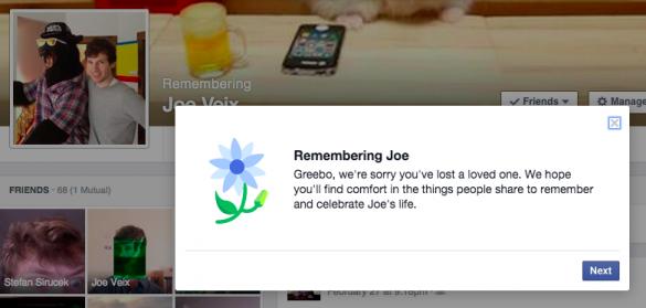 Сообщение Facebook в память о Джо Вее. Изображение № 8.