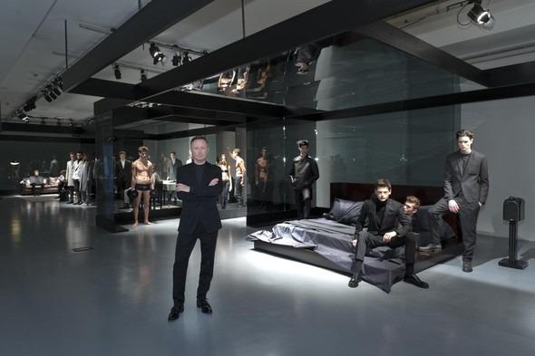 Calvin Klein. Презентация коллекции Осень 2012. Изображение № 1.
