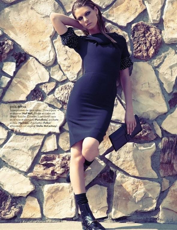 Съемка: Анджела Линдвалл для французского Elle. Изображение № 3.