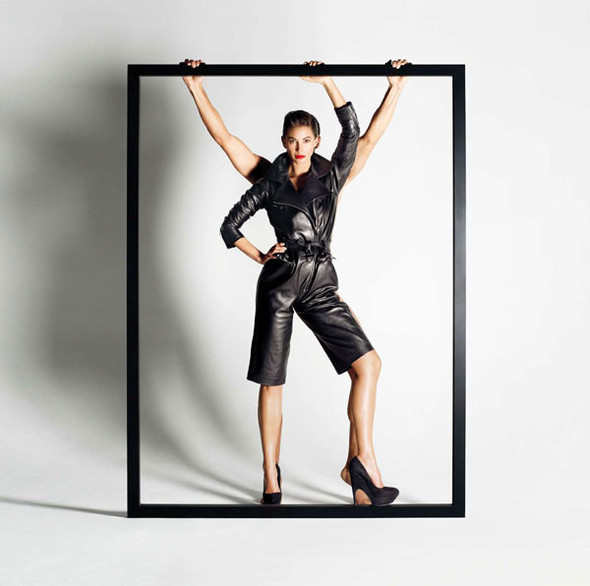 Turlington for YSL and Bally. Изображение № 11.
