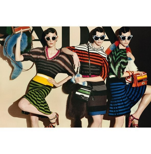 Изображение 34. Рекламные кампании: Lanvin, Prada, Balenciaga и другие.. Изображение № 11.