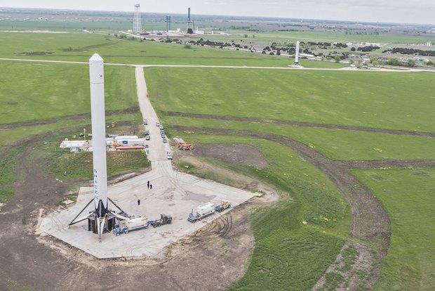 Космодром SpaceX около Макгрегора. Изображение № 1.