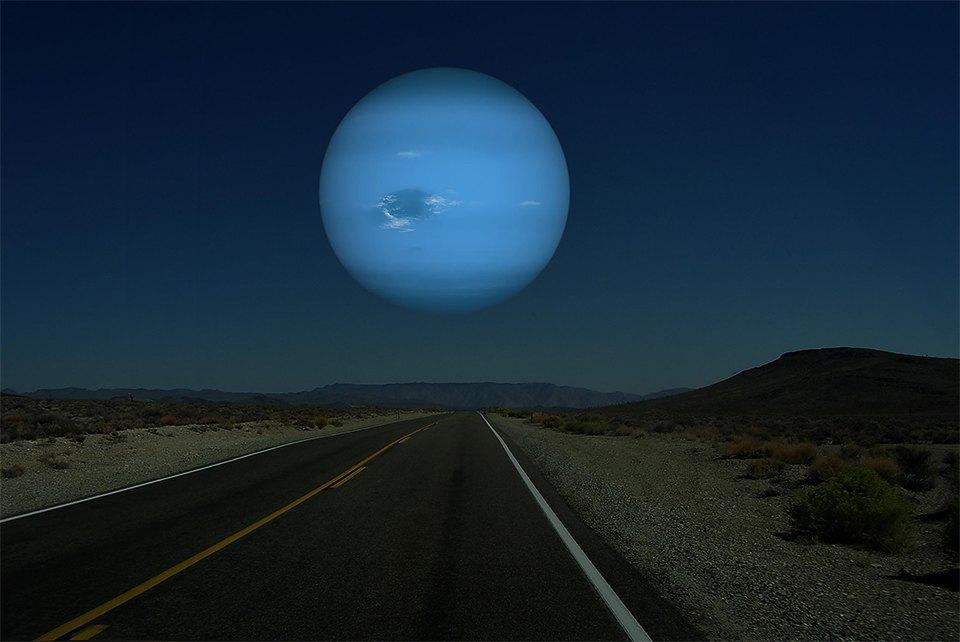 Что будет, если заменить Луну планетами Солнечной системы. Изображение №4.